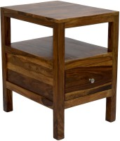 View TimberTaste COLA Solid Wood Side Table(Finish Color - Natural Teak) Furniture (TimberTaste)
