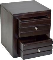 View TimberTaste VEETO Solid Wood Side Table(Finish Color - Dark Walnut) Furniture (TimberTaste)