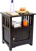 View TimberTaste MEEKA Solid Wood Side Table(Finish Color - Dark Walnut) Furniture (TimberTaste)