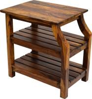 View TimberTaste OPERA Solid Wood Side Table(Finish Color - Natural Teak) Furniture (TimberTaste)
