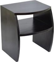 View TimberTaste FANTA Solid Wood Side Table(Finish Color - Dark Walnut) Furniture (TimberTaste)