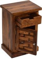 View TimberTaste Alaska Solid Wood Side Table(Finish Color - Natural Teak) Furniture (TimberTaste)
