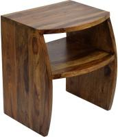 View TimberTaste FANTA Solid Wood Side Table(Finish Color - Natural Teak) Furniture (TimberTaste)