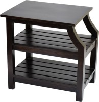 View TimberTaste OPERA Solid Wood Side Table(Finish Color - Dark Walnut) Furniture (TimberTaste)