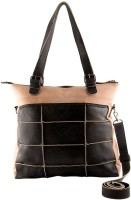 trysco Hand-held Bag(Tan, Black)