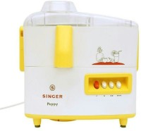 Singer PEPPY DX 500 W Juicer Mixer Grinder(Yellow, White, 2 Jars)