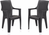 View homegenic PP Moulded Chair(Finish Color - Plain Set of - 2) Furniture (homegenic)