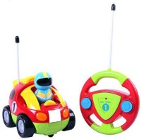 Webby Cartoon Racing Radio Control Toy for Toddlers(Multicolor)