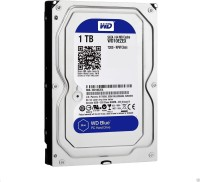 View Western Digital SATA 1 TB Desktop Internal Hard Disk Drive (WD10EZEX) Price Online(Western Digital)