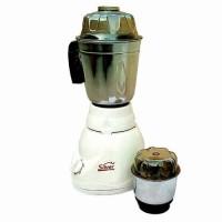 Sliver Home Quity 450 W Mixer Grinder(White, 2 Jars)