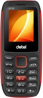 Detel D110 PLUS(Black & Red)