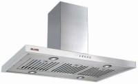 Alda Glen CHA 652 IS - 90 cm 1250m3/hr Baffle Filter Ceiling Mounted Chimney(Silver 1250)