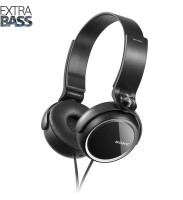 Sony MDR-XB250 Headphone(Black, On the Ear)
