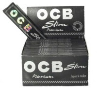 SCORIA OCB ROLLING Paper Inside Fitting Hookah Mouth Tip(Black, White, Pack of 50)