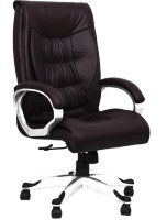 View woodstock india Leatherette Office Executive Chair(Brown) Furniture (Woodstock India)