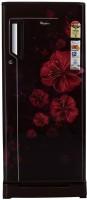 Whirlpool 215 L Direct Cool Single Door 4 Star Refrigerator with Base Drawer(Wine Dahlia, 230 Icemagic Fresh ROY)