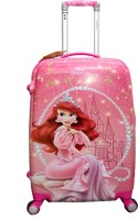 TRAVELLER CHOICE princess ariel Cabin Luggage - 22 inch(Pink)