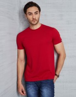 Metronaut Solid Men's Round Neck Red T-Shirt