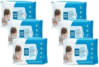 MeeMee Caring Baby Wet Wipes with Lemon Fragrance - 72 pcs (Pack of 6)(6 Pieces)