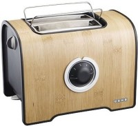 Usha PT 3210B 800 W Pop Up Toaster(Brown, Real Bamboo Cool Touch Body)