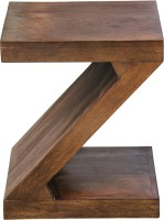 View InLiving Solid Wood End Table(Finish Color - Brown) Furniture (InLiving)