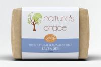 Natures Grace Handmade Lavender Soap(100 g) - Price 99 45 % Off