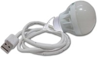 View Belifal USB LED Bulb 5Watts bel1010 Led Light(White) Laptop Accessories Price Online(Belifal)