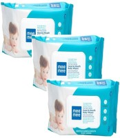 MeeMee Gentle Hand and Mouth Baby Wipes (72 Sheets x3 Pcs)(3 Pieces)