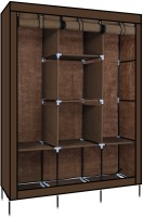 View crobat PP Collapsible Wardrobe(Finish Color - brown) Furniture (crobat)
