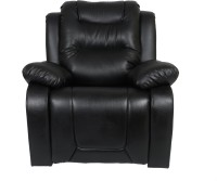 View AE DESIGNS Leatherette Manual Recliners(Finish Color - Black) Furniture (AE DESIGNS)