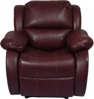 View AE DESIGNS Leatherette Manual Recliners(Finish Color - Maroon) Furniture (AE DESIGNS)