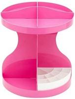 View Sukot cosmetic makeup storage rack Stand Plastic Wall Shelf(Number of Shelves - 8, Pink) Furniture (Sukot)