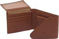ALTON Men Brown Genuine Leather Wallet(5 Card Slots)
