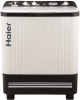 Haier 7.2 kg Semi Automatic Top Load White, Grey(HTW72-187S)