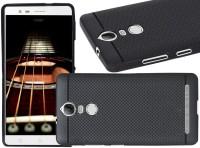 VAKIBO Back Cover for Lenovo Vibe K5 Note(Matte Black Dotted, Grip Case)