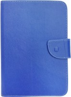 Fastway Book Cover for HCL Me X1 Wifi 3 G Tab(Blue, Artificial Leather)