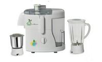 Green Home Rotery 550 Watt 550 Juicer Mixer Grinder(White, 2 Jars)