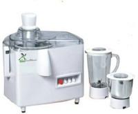 Green Home Mark1 550 Watt 550 Juicer Mixer Grinder(White, 2 Jars)