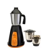 Green Home Aqua black & Orange 450 Mixer Grinder(Multicolor, 3 Jars)