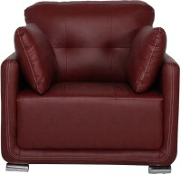View FURNITURE MIND Leatherette 1 Seater(Finish Color - Cherry) Furniture (FURNITURE MIND)