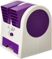 View Numex Mini Fan Cooling Portable Desktop Dual NU063 USB Fan(Voilet) Laptop Accessories Price Online(Numex)