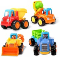 Techhark Unbreakable Automobile Car Toy Set(Multicolor)
