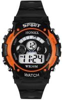 SATNAM FASHION Orange Digital Watch  - For Boys