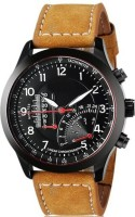 Shivam Retail SR-001 Stylish Pure Leather Brown Watch - For Boys
