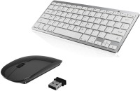 View ReTrack Super Slim Wireless Portable Wireless keyboard & Mouse Combo Set Laptop Accessories Price Online(ReTrack)