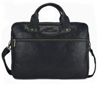 View Urban Forest 14 inch Laptop Messenger Bag(Black) Laptop Accessories Price Online(Urban Forest)