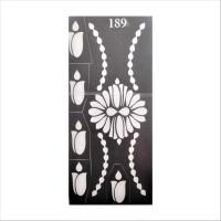 ARR Henna Stencils HS 189(HENNA) - Price 100 41 % Off