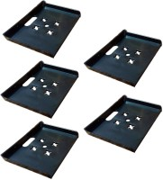 View MASTERFIT Set of 5,003 Polypropylene Wall Shelf(Number of Shelves - 5, Black) Furniture (Masterfit)