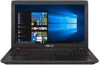 View Asus FX553 Core i7 7th Gen - (8 GB/1 TB HDD/128 GB SSD/DOS/4 GB Graphics) FX553VD-DM628 Notebook(15.6 inch, Black, 2.4 Kg kg) Laptop