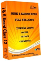 AVNS INDIA Jammu & Kashmir Board Class 12 - Combo Pack - Physics, Chemistry and Maths Full Syllabus Teaching Video(DVD)